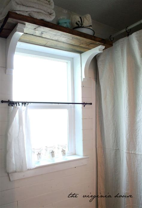 small bathroom window curtain ideas best 25 shelf above window ideas on above