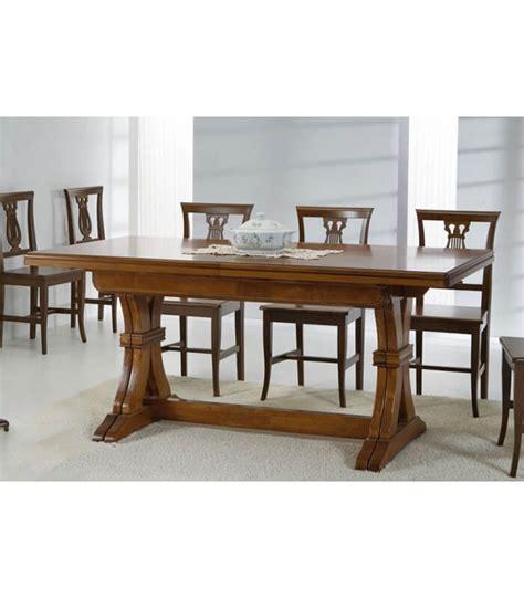 tavoli classici allungabili tavolo legno classico allungabile