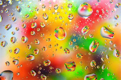 wallpaper colorful raindrops free photo color colorful raindrops rainbow free