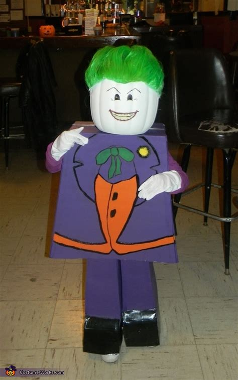 lego joker costume diy costumes