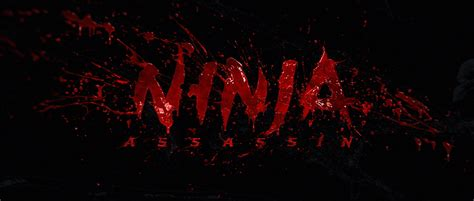 film complet ninja assassin ninja assassin film title sequence on behance