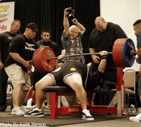bench press contest how to break bench records t nation