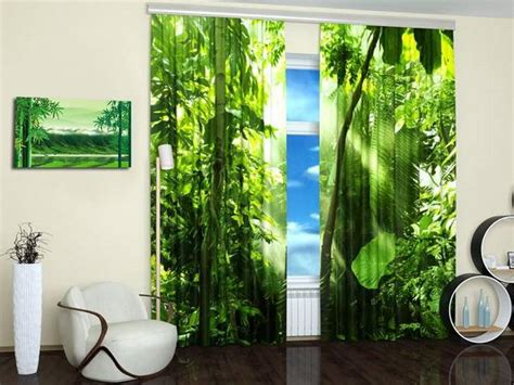 15 window curtains with colorful prints of beautiful
