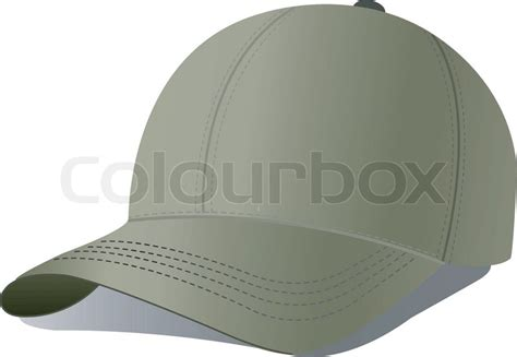 vector illustration of baseball cap stock vector