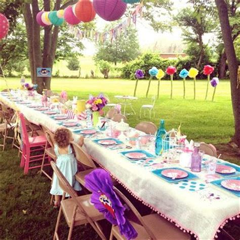 Backyard Birthday by Outdoor Birthday Outdoor Birthday And Ideas