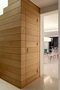 wooden door timber cladding extrarchitecture