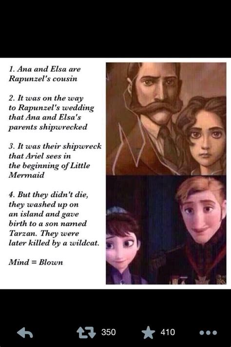 film theory elsa and rapunzel 15 fascinating disney theories disney rapunzel and frozen