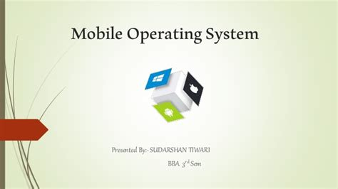 operating system mobile mobile operating system