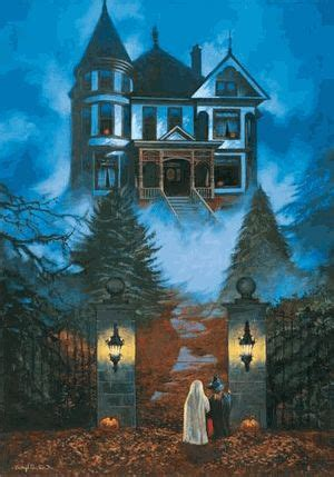 3 D Puzlle Happy House 230 best a haunting we will go images on