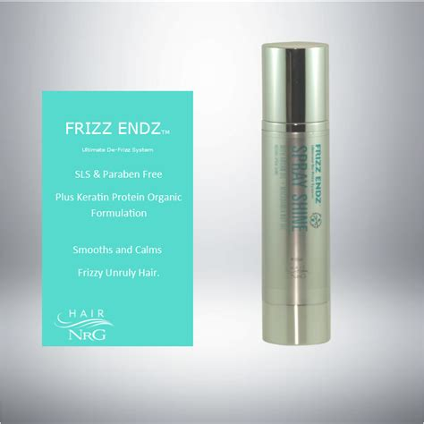 Serum Spray frizz endz serum hair nrg