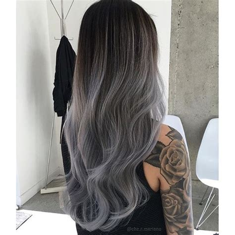 silver hair say goodbye to the dye and let your light shine a handbook books breathtaking gray hair color done by che r mariano