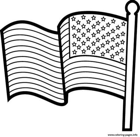 A Coloring Page Of The American Flag by Cool American Flag Usa Coloring Pages Printable