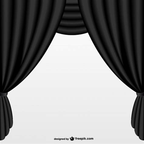 black theater curtains simple black curtain vector free download