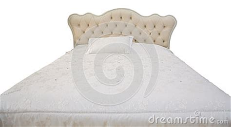 Pillow Back Bed Frame White Bed Stock Photo Image 40324372