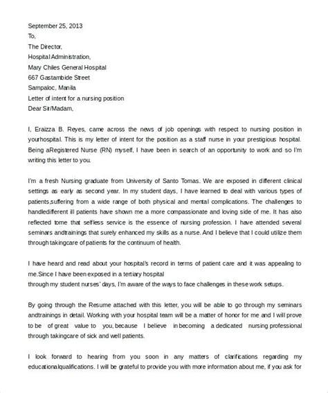 Letter Of Intent Exle Sle Internship Letter Of Intent Template Free Document Letter Of Free Letter Of Intent To Sue Template