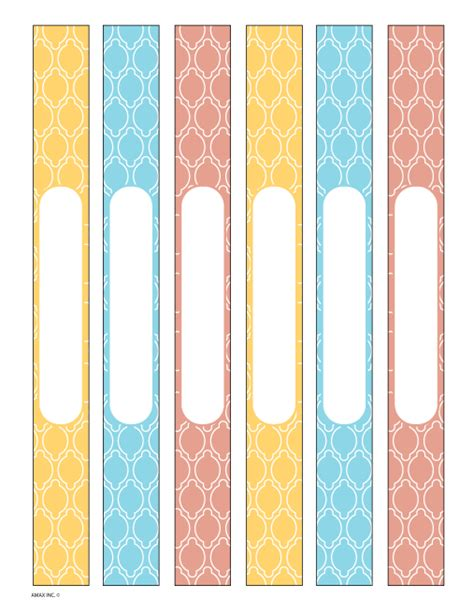 printable binder spine inserts veranda