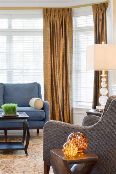 Curtains For Brown Living Room by Metallic Brown Living Room Curtains Hgtv