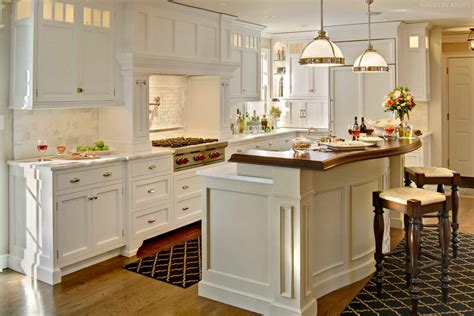 J Craft Cabinets by White Kitchen Cabinetry For A Kitchen Located In Chatham