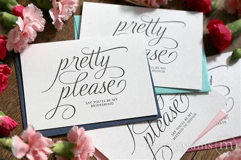 testo you ll be in my will you be my bridesmaid cards pretty