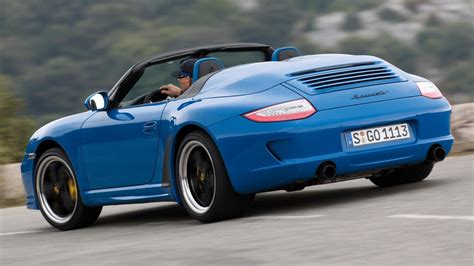 2011 Porsche 997 Speedster by Porsche 911 Speedster To Drop Its Top In Frankfurt