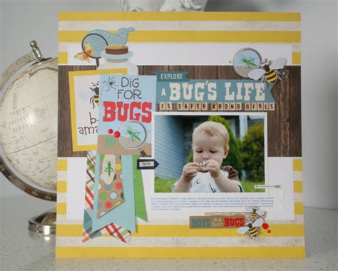 layout bug html create your own quot bug collection quot layout echo park paper