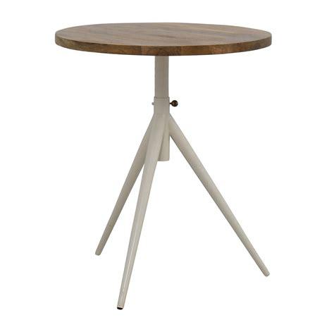 elm bistro table 39 elm elm adjustable bistro table