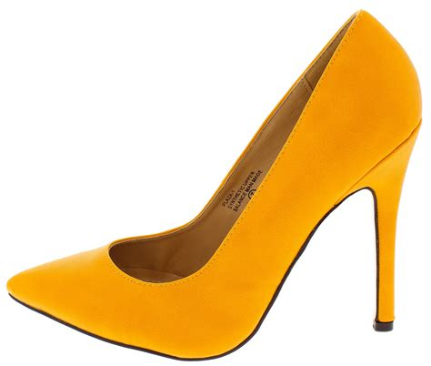 yellow mustard heels is heel