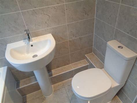 tiled bathroom walls and floors shower bath bathroom suite fitted with tiled walls and floor