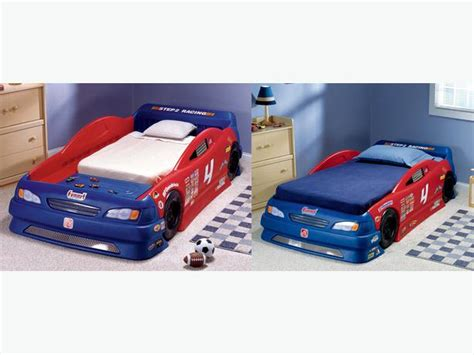 Size Race Car Bed by Ovno Step2 Racing Car Bed Converts From Toddler Bed To