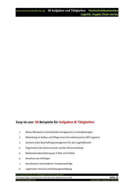 Anschreiben Absolvent Beispiel 4 X Anschreiben Absolvent Logistik Und Supply Chain M W Karriereakademie