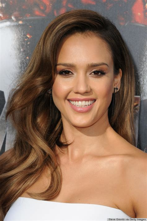pictures jessica alba red carpet hairstyles through the usa fashion music news fashion mtv movie awards 2014