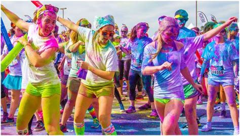 color run pictures color vibe