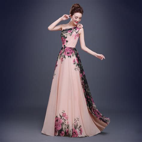 Dress Maxi 2 Ukuran Longdress Gaun Pesta Big Size Murah aliexpress buy one shoulder evening dresses