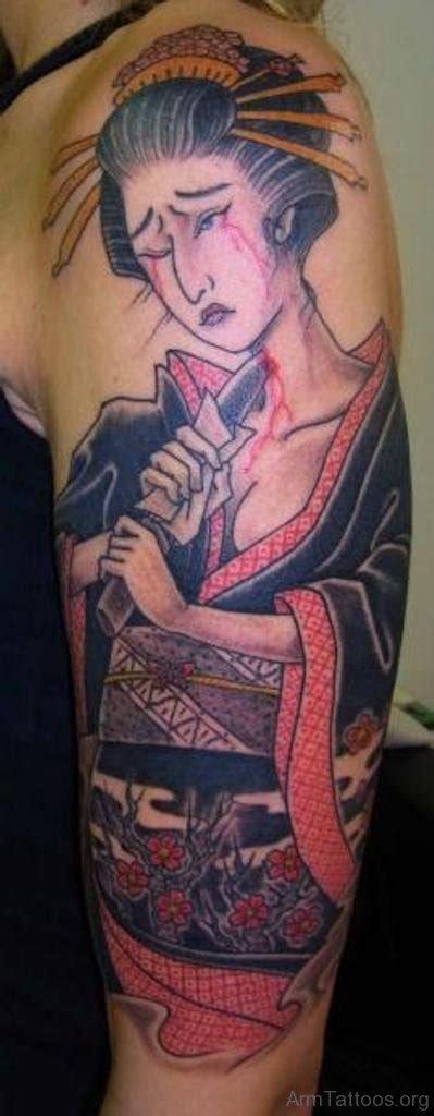 geisha tattoo on arm 52 mind blowing geisha tattoos for arm