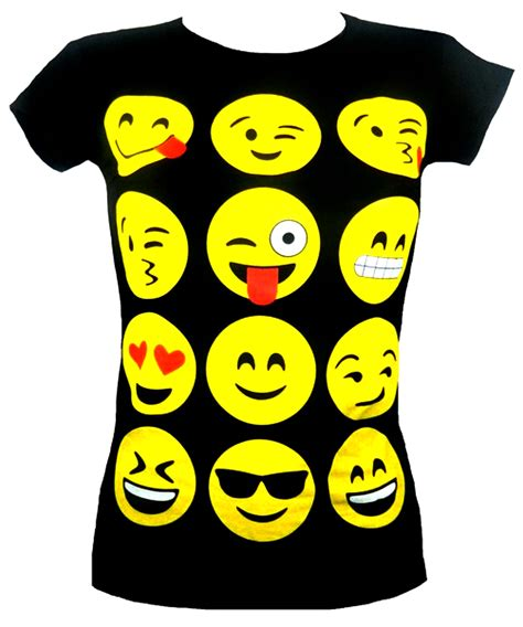 Tshirt Bsd Smile emoji emoticons smiley faces sleeve t shirts