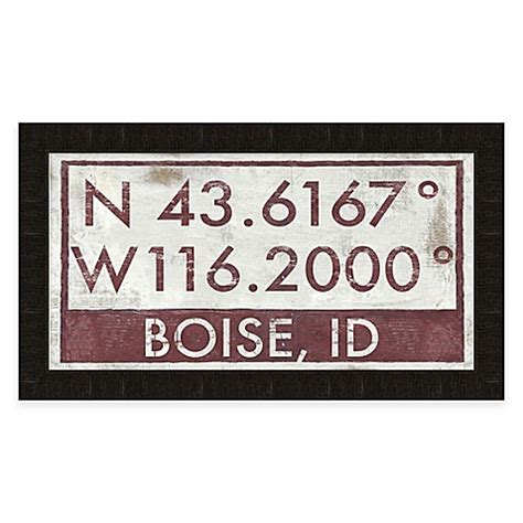 bed bath and beyond boise buy boise idaho coordinates framed wall art from bed bath
