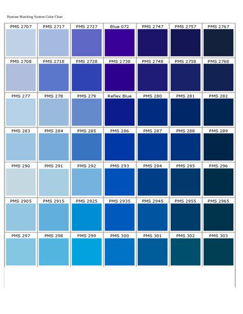 what is pantone pantone matching system color chart free