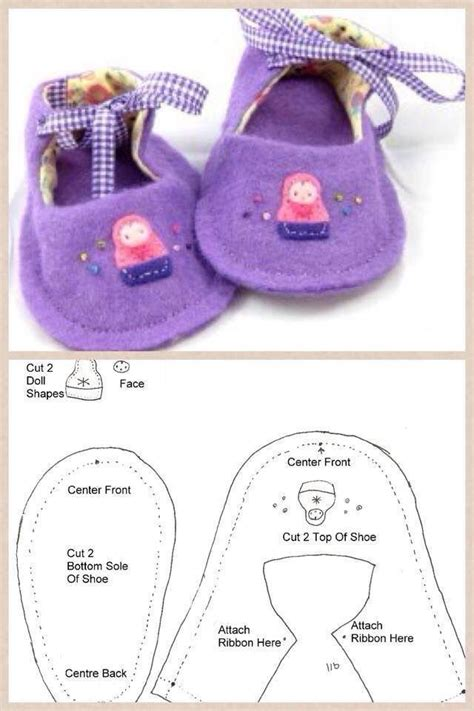 diy american doll shoes 54 best images about moldes on baby shoes
