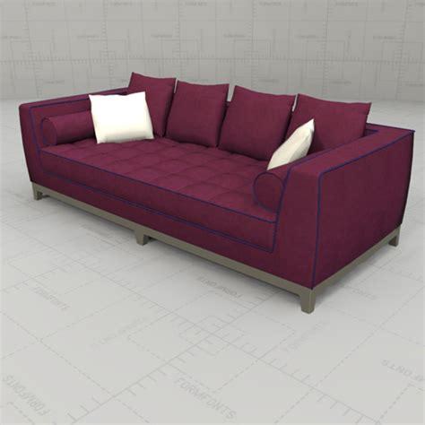 lutetia sofa set 3d model formfonts 3d models textures - Sofa Set Models