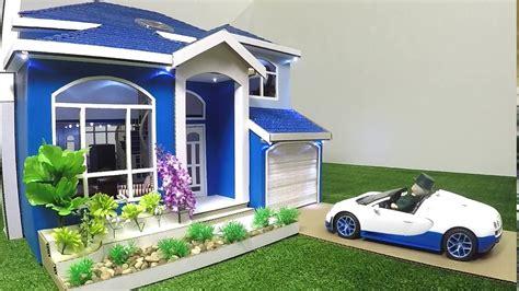 dollhouse with lights cardboard box made into dollhouse with lights remote
