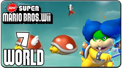 7 Tips On Mario Wii With A Partner by New Mario Bros Wii 100 Walkthrough World 7