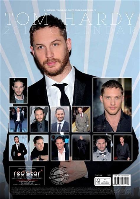 Calendar 2018 Tom Hardy Tom Hardy Calendars 2018 On Europosters