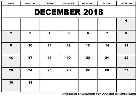 printable calendar 2018 december 2015 printable calendar december 2018 calendar pdf calendar monthly printable