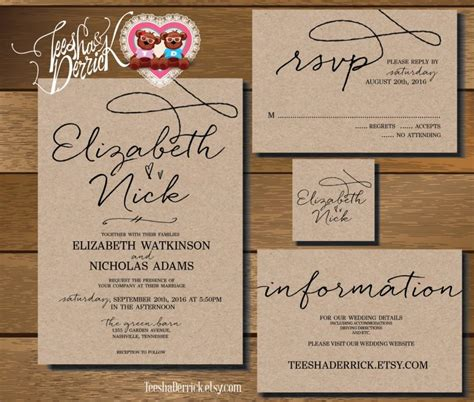 Wedding Invitation Rsvp by Wedding Invitations And Rsvp Cards Theruntime