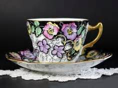 6 Pasang Cangkir Set Print Coffee 6 Cangkir 6 Saucer Alas 301 best images about our pansy tea on