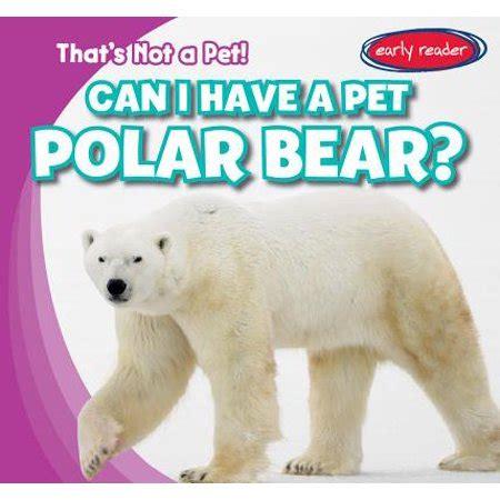 pet polar bear walmartcom