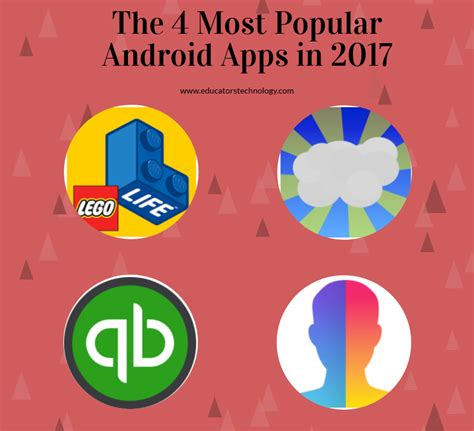 most popular android the 4 most popular android apps in 2017 educational technology and mobile learning