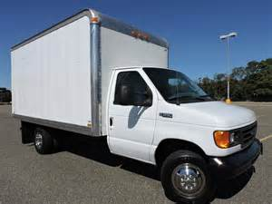 Ford Box Truck For Sale 04 Ford E350 Cutaway 14ft Box Truck For Sale In