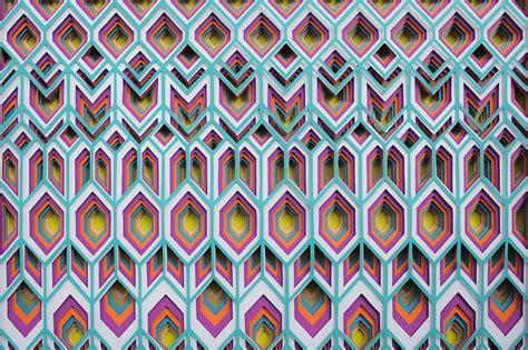 net paper pattern 2014 amazing 3d paper patterns fubiz media
