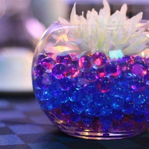 fishbowl centerpiece idea fishbowl wedding centerpieces in 2019 galaxy wedding wedding